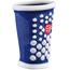 Compressport 3D Dots Sweatband Blue